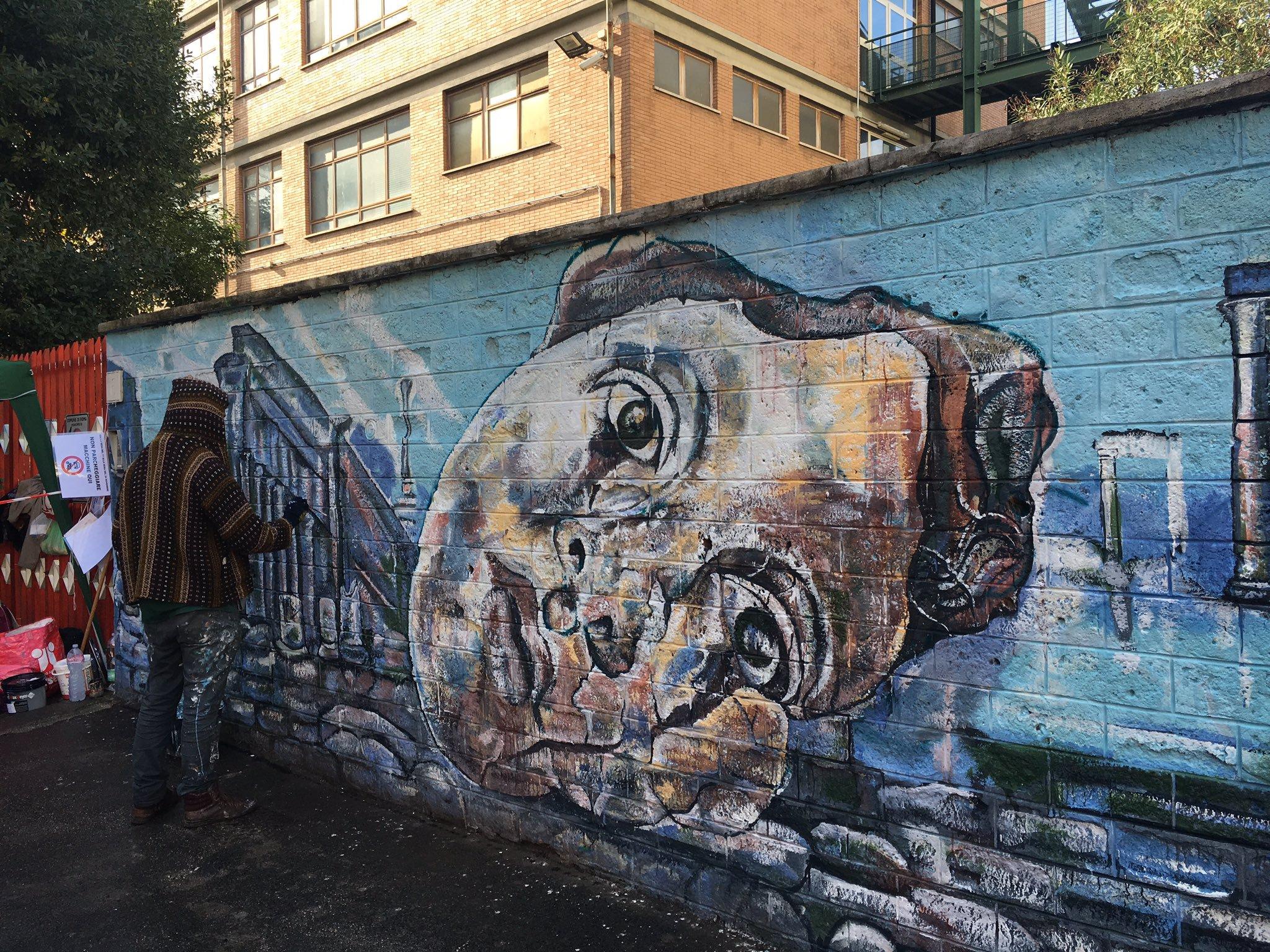 Carlos Atoche - Muri Sicuri: Dipingiamo un Muro per Curarne Cento