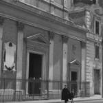 Roma città aperta - Scena davanti la Chiesa di Sant'Elena