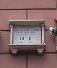 Targa ai caduti di Bandiera Rossa