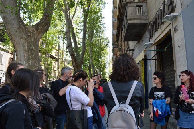 I laboratori con l'Ecomuseo Casilino