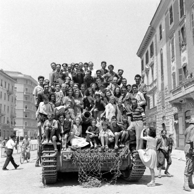 La storia del Panzer sulla Casilina