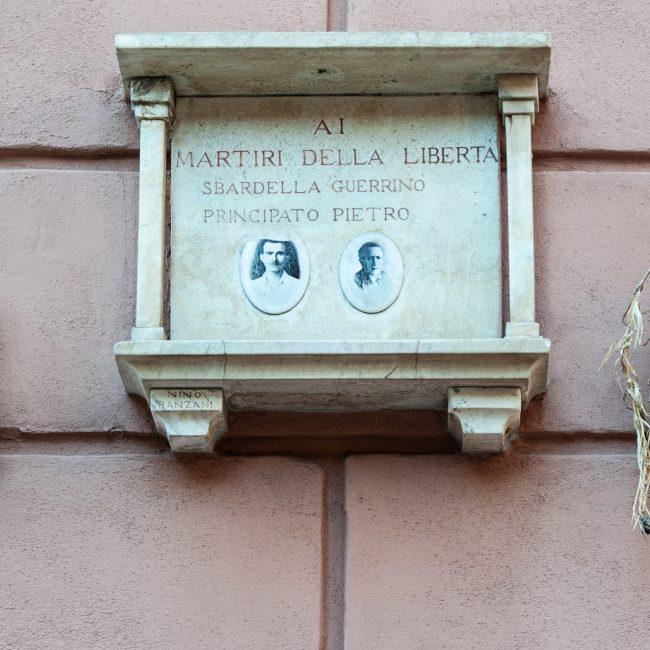 Ai Martiri della Libertà di Villa Certosa