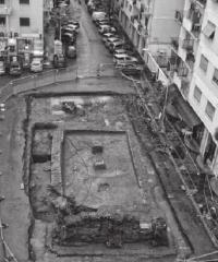 La cisterna romana di P.zza Ronchi