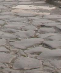Resti della via Prenestina (civico 228 della via)