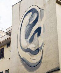 Escif – L'orecchio destro