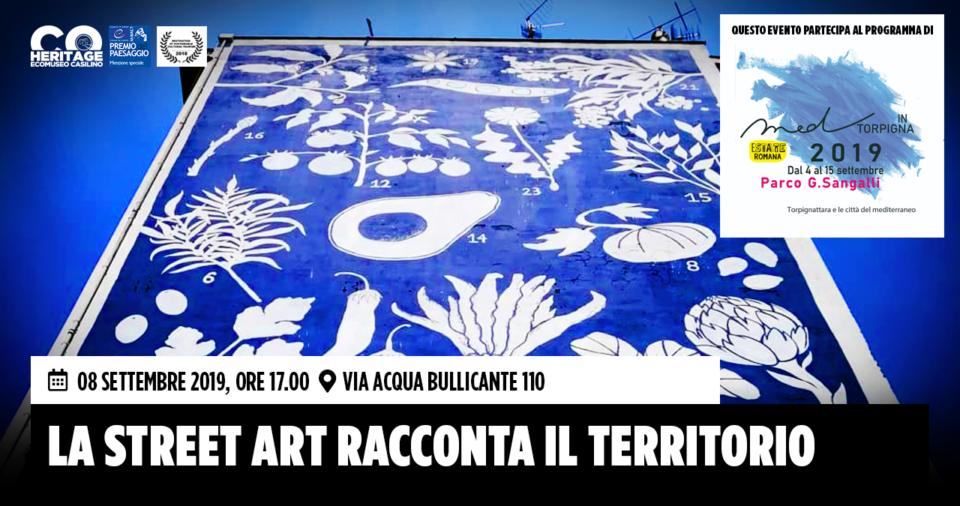 La street art racconta il territorio