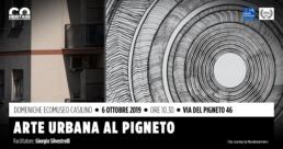Arte urbana al Pigneto