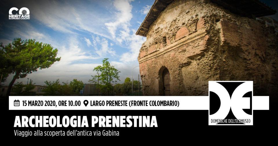 Riparte il fitto programma primaverile delle Domeniche dell'Ecomuseo Casilino