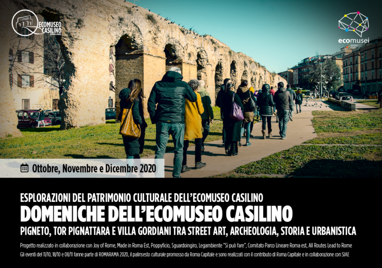 Domeniche dell'Ecomuseo Casilino 2020