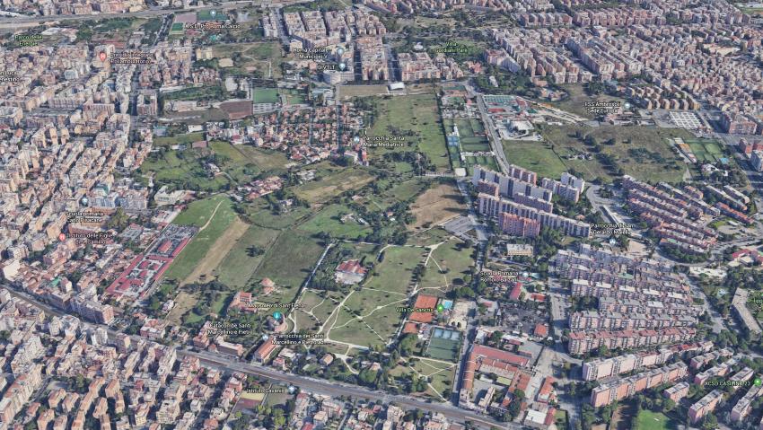 Vista area del Comprensorio Archeologico Ad Duas Lauros