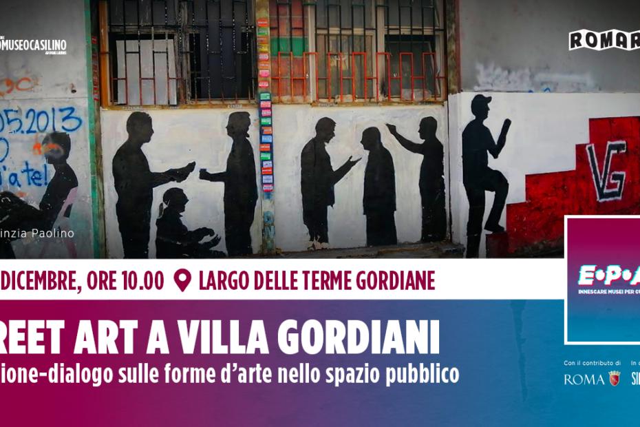 Street Art a Villa Gordiani