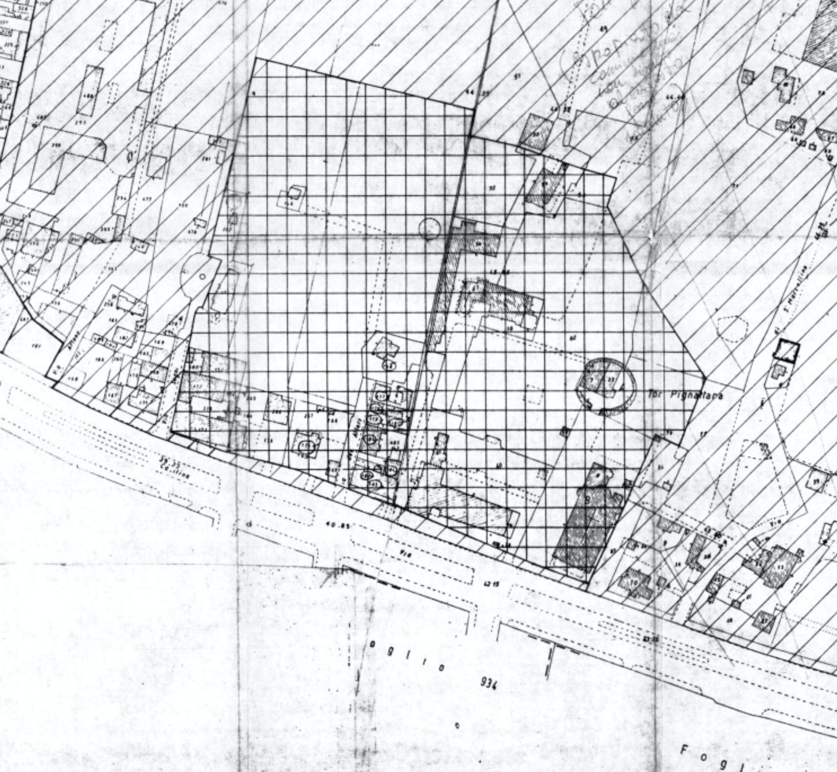 Perimetrazione dell'area nel DM del 16 aprile 1987