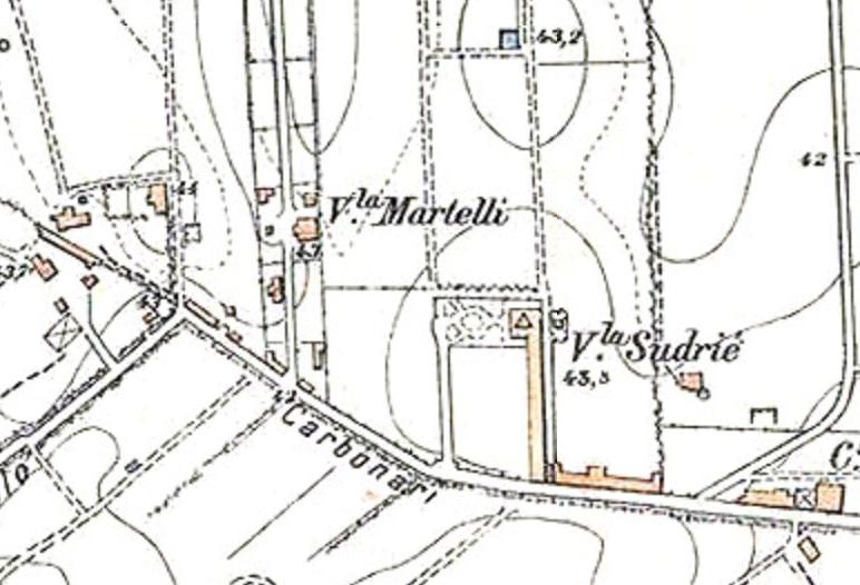 Villa Martelli (IGM 1924)