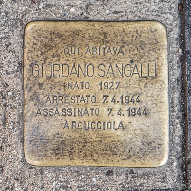 """Giordano Sangalli e il gap """"Carlo Pisacane"""""""