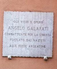 Angelo Galafati, un garofano rosso all'occhiello