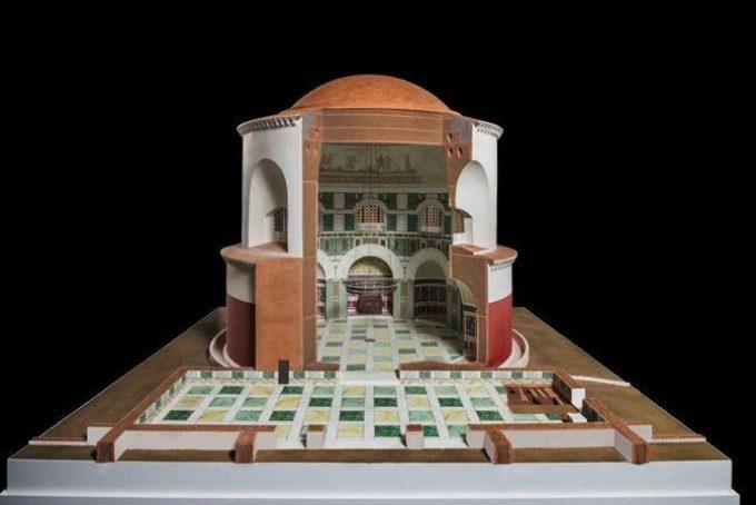 Ricostruzione 3D del Mausoleo di Sant'Elena