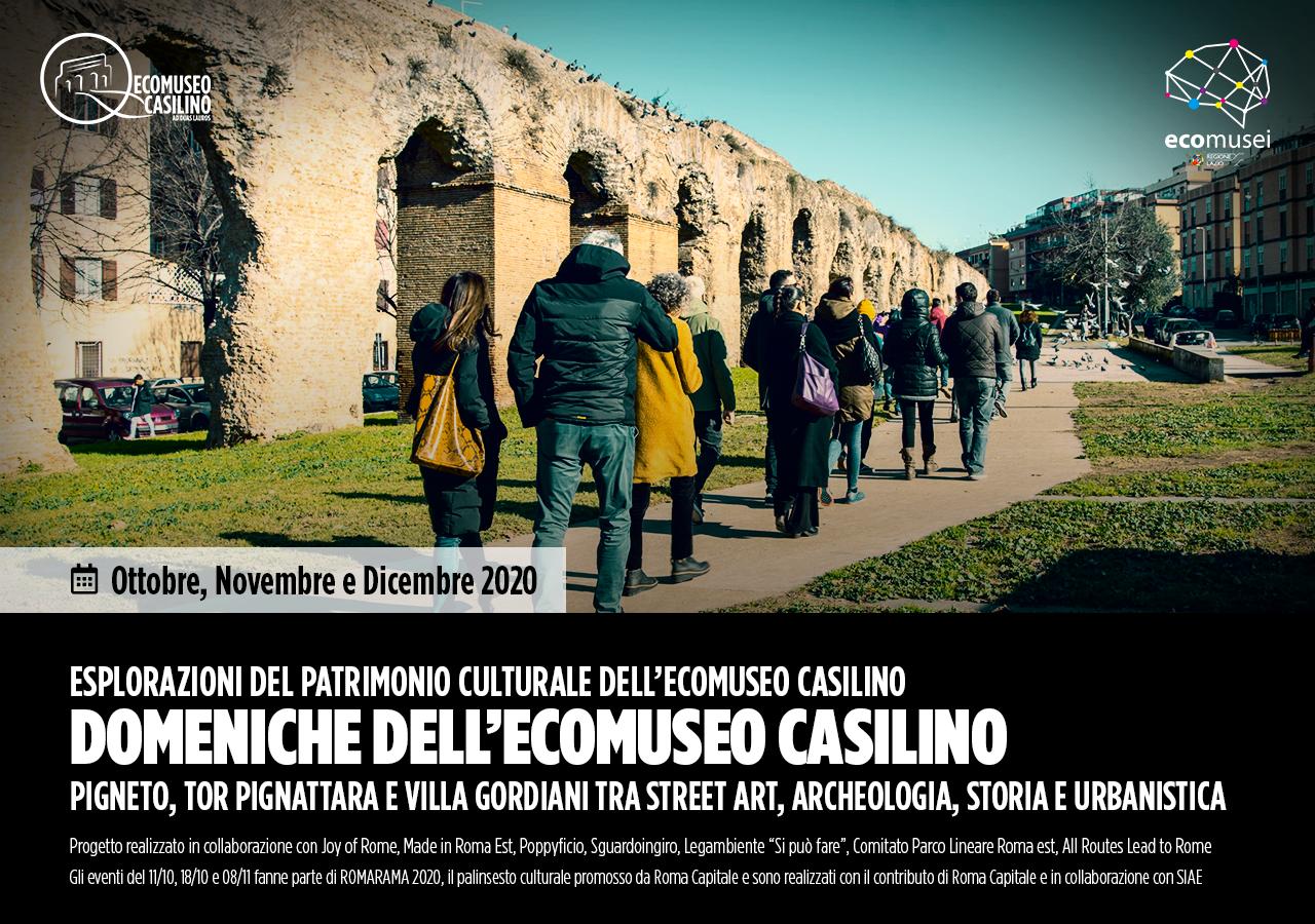Domeniche dell'Ecomuseo Casilino 2020