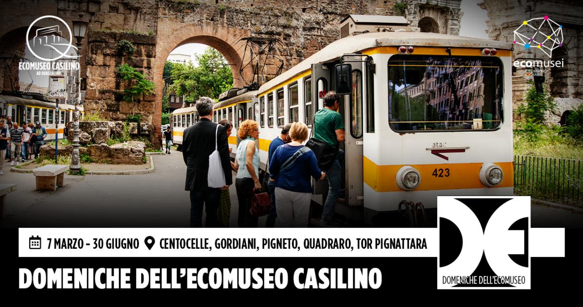 Domeniche dell'Ecomuseo Casilino 2021