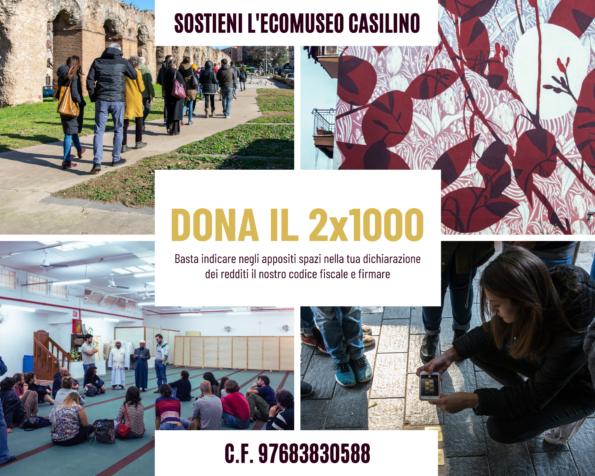 Sostieni l'Ecomuseo Casilino