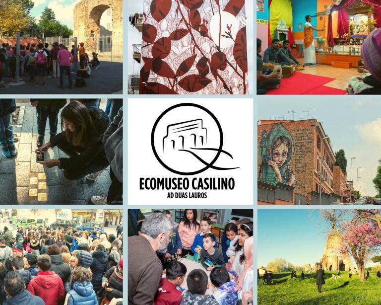 Ecomuseo Casilino - collage with logo