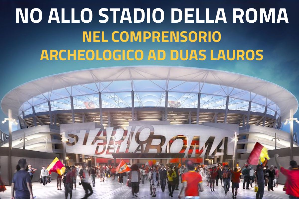 No stadio della Roma nel Comprensorio ad Duas Lauros